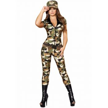 Camouflage Catsuit
