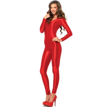 Catsuit Rood
