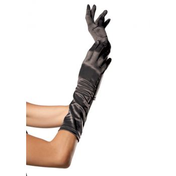 Elbow Length Satin Glove