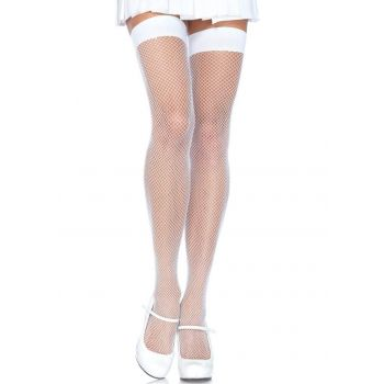 Nylon Net Stocking, 10 kleuren-white