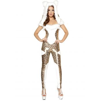 Charming Cheetah Catsuit