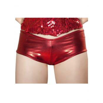 Rood mini short