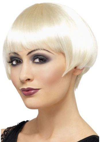 Roaring Twenties Blonde Bob
