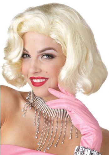 Marilyn Monroe Pruik Diamond