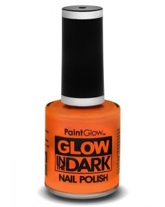 Oranje Nagellak Glow in the Dark