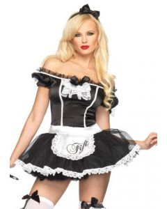 French Maid Kostuum