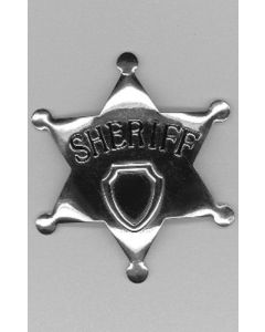 Sheriff Badge Metaal